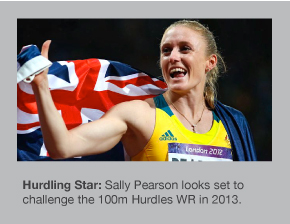Sally Pearson could experience a magical 2013