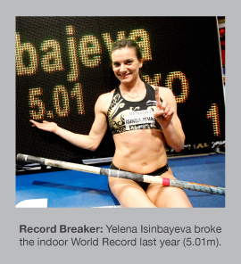 Yelena Isinbayeva breaks yet another World Record