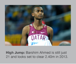 Barshim Ahmed is the next big High Jump star