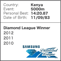 Diamond League Legend - Vivian Cheruiyot
