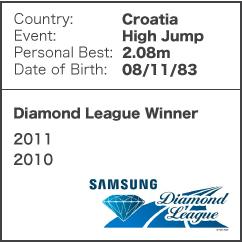 Diamond League Legend - Blanka Vlasic