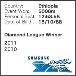 Diamond League Legend - Imane Merga