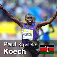 Diamond League winner 2010-2012 - Paul Kipsiele Koech