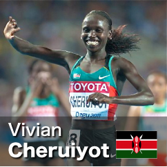 Diamond League winner 2010-2012 - Vivian Cheruiyot