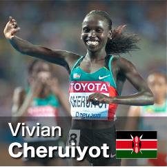 Diamond League winner 2010-2012 - Vivian Cheruiyot