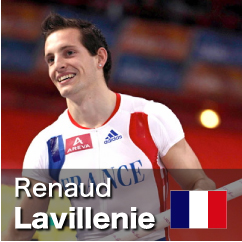 Diamond League winner 2010-2012 - Renaud Lavillenie