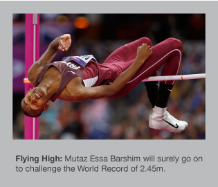 Mutaz Essa Barshim has risen to new heights