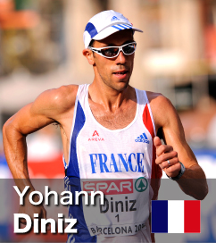 Yohann Diniz has twice been European Champion