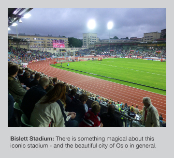 The Bislett Games are a very special occasion