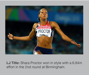 Shara Proctor is enjoying a great season