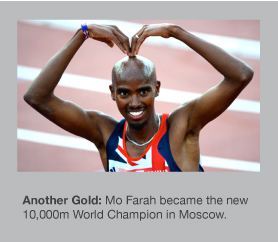 Mo Farah adds another global title to his growing list