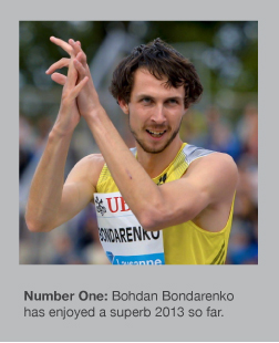Bohdan Bondarenko will surely challenge the WR again soon
