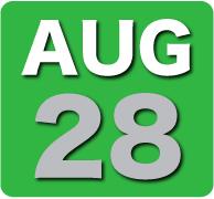Thursday 28 August 2014