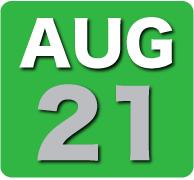 Thursday 21 August 2014