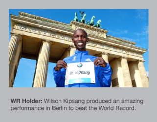 Wilson Kipsang is the new World Record holder