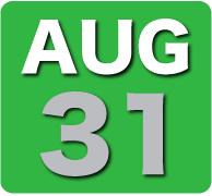 Sunday 31 August 2014