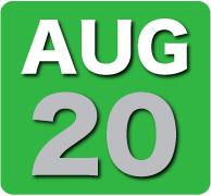 Wednesday 20 August 2014