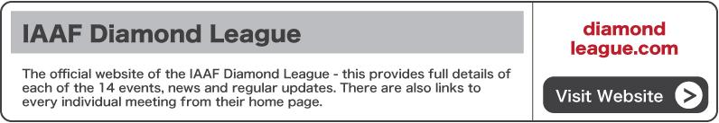 Visit the IAAF Diamond League website