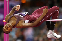 Mutaz Essa Barshim is in great form