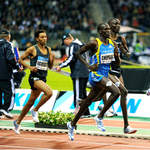 Men's 1500m action from Brussels