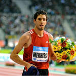 Mahiedine Mekhissi-Benabbad (France) after 3000mSC win