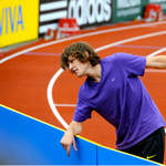 World Indoor High Jump Champion Ivan Ukhov (Russia) at Crystal Palace