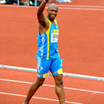 British sprint legend Marlon Devonish at Crystal Palace