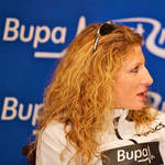 2010 Great South Run - Constantina Dita at press conference