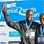 2010 Great South Run - Elite race winners