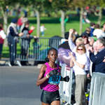 2010 Great South Run - Grace Momanyi in control