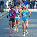 2010 Great South Run - leading Women