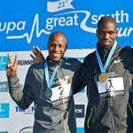 2010 Great South Run - Men medallists