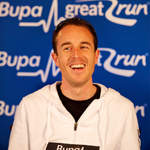 2010 Great South Run - Viktor Rothlin at press conference