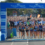 2010 Great South Run - Women start