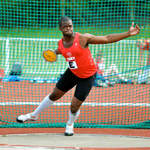 Southern Inter-Counties Discus - Chris Linque