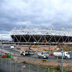 Olympic Stadium and Orbit - Sat 18 Feb 2012