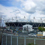 2012 Olympic Stadium and Orbit - Sat 21 April 2012