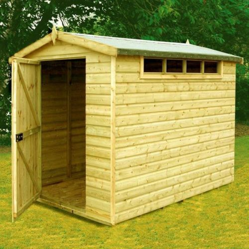 Security Apex Shed from