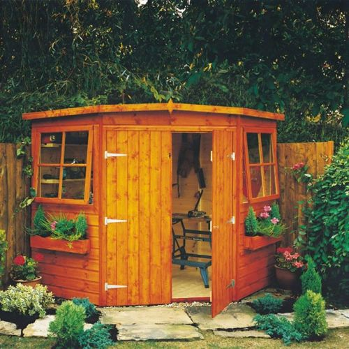 Murrow Corner Shed 3 sizes from
