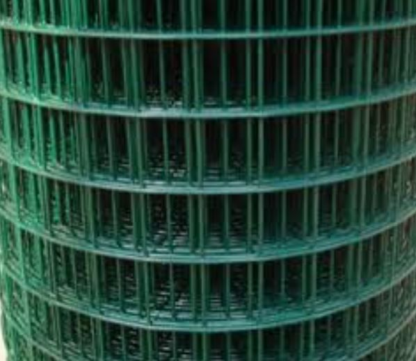 3ft  Weld Mesh Green Plastic Coated  per (metre)