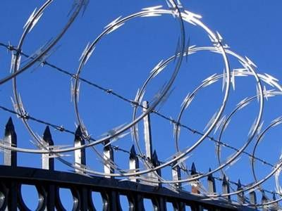 Razor wire for that added security