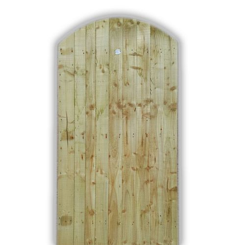 <!-- 0008 -->Convex/Arch Top Feather Edge Gate (ledged and braced only) all