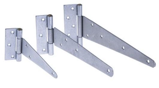 Tee Hinge Galvanised (pair) from