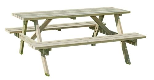 <!-- 0001 -->6 Seater Rectangular picnic table