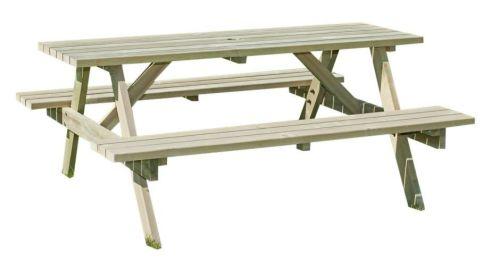 <!-- 0001 -->6 Seater Rectangular picnic table