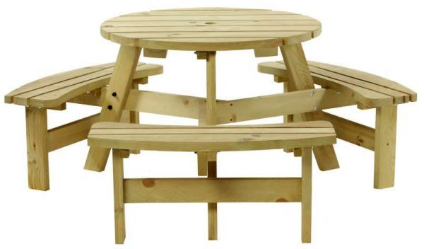 <!-- 0002 -->8 seater round picnic table