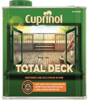 Cuprinol Total Decking Restorer Clear