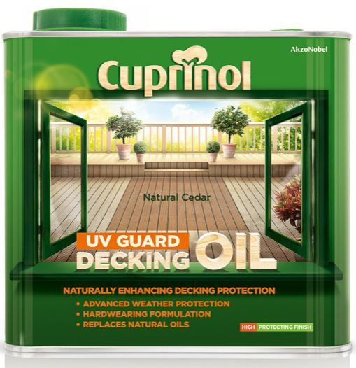 Cuprinol Decking Gaurd Oil