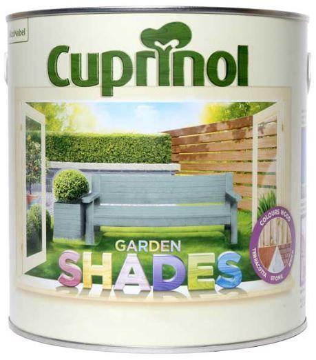 Cuprinol Garden Shades in 1LT and 2.5Lts from
