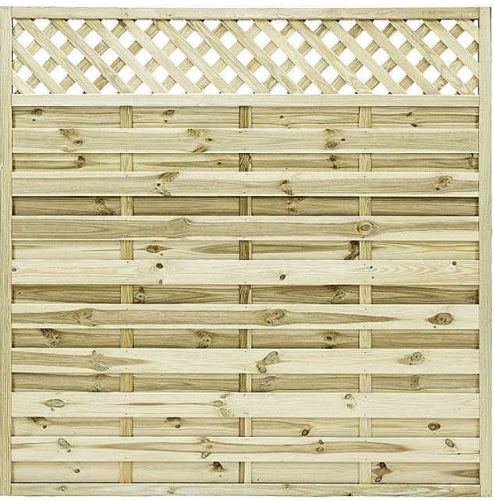 St Malo Fence Panels in 2 sizes from
